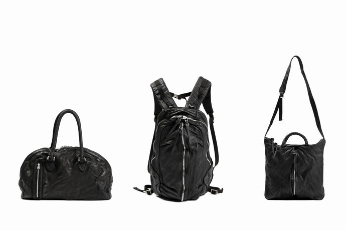 "BACKLASH ""Italy Shoulder Leather"" BAGS - (SS21)."