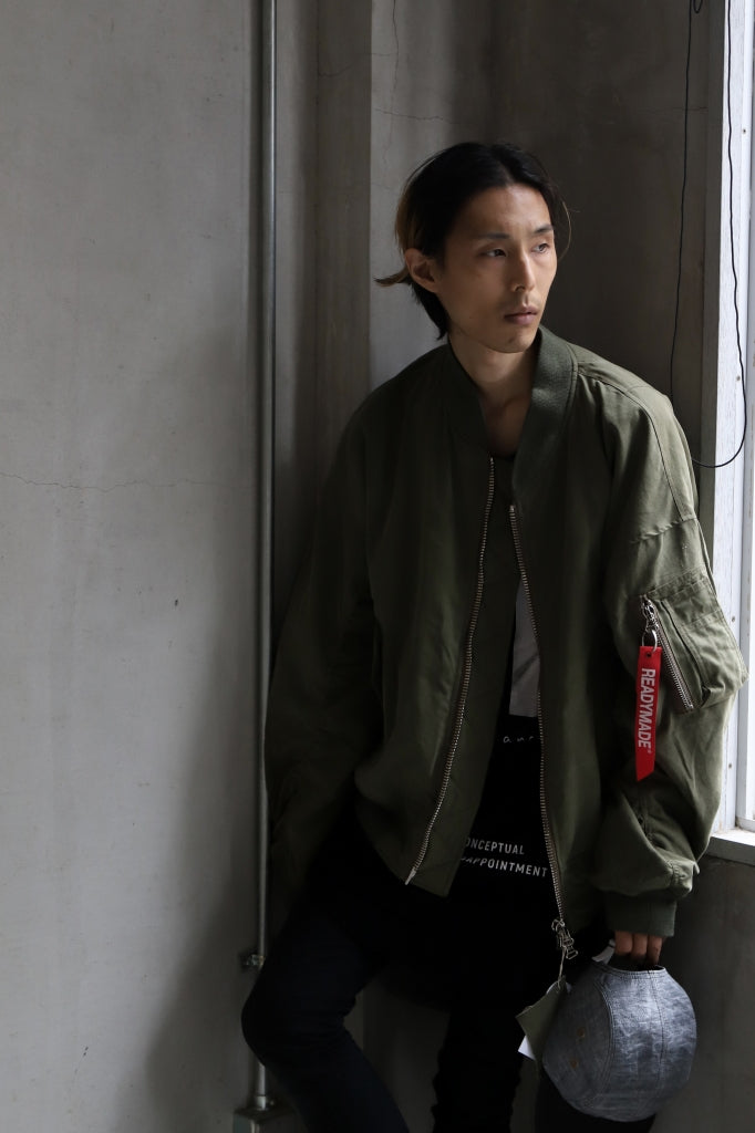 [ Jacket ] READYMADE JESSE JACKET Price / ¥278,300 - (in tax) Size / 02 (*One Size) Color / Green Material / Vintage Cotton (Rebuild by US ARMY TENT)