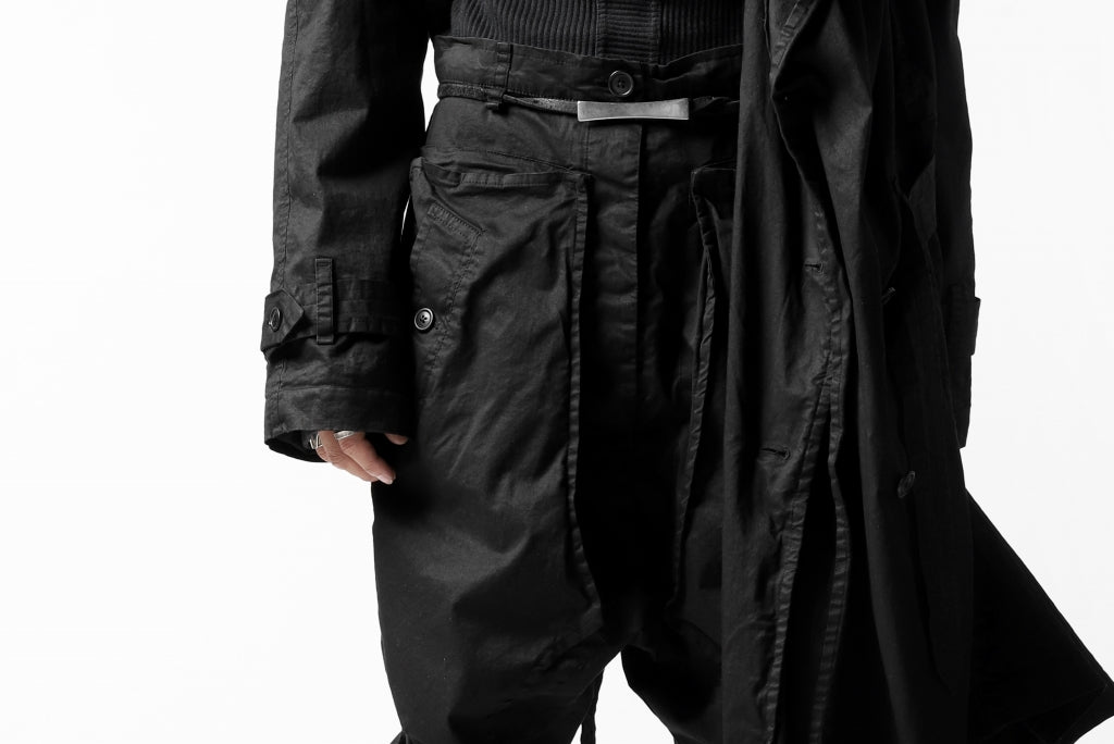 RUNDHOLZ DIP MILITARY TRENCH COAT