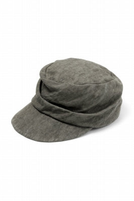 [ CAP ] forme d'expression Cadet Cap (Dust) Price / ¥23,100 - (in tax) Size / L (*Fitting;L) Color / DUST Material / Cotton, Ramie, Metal