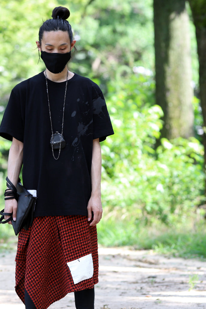 "DEFORMATER.® VANISHED PRINT ""SPLASH"" T-SHIRT (BLACK)"