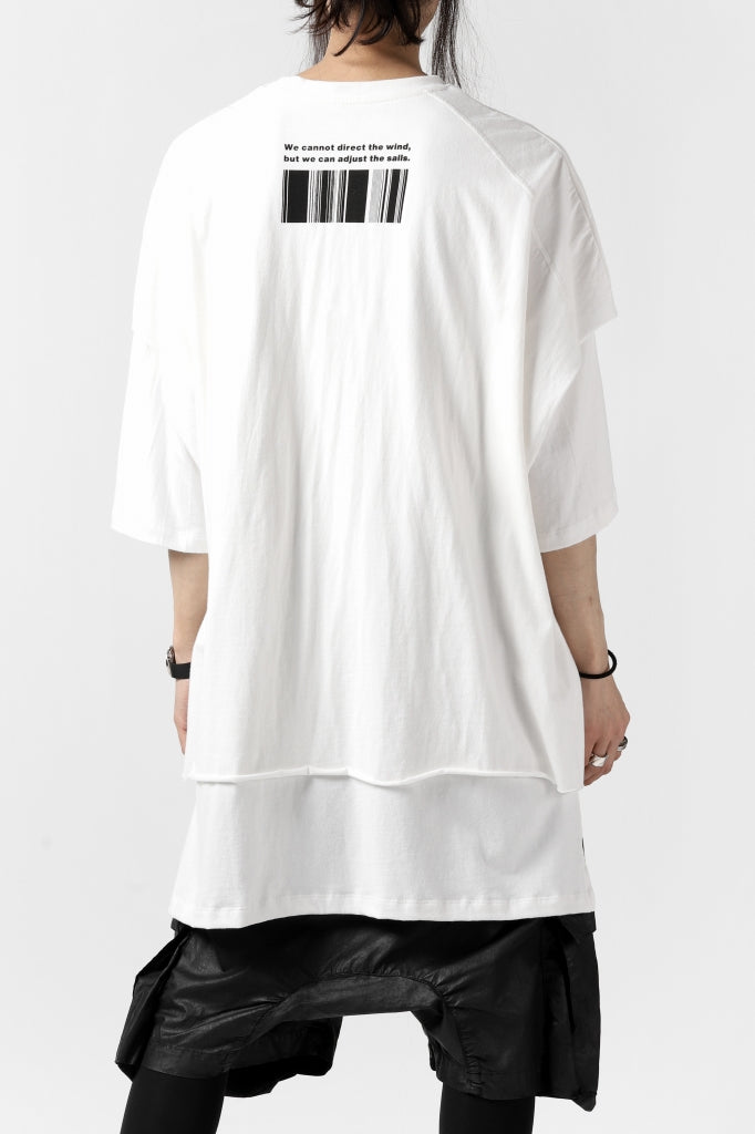 """A.F ARTEFACT """"TWINS"""" LAYERED OVER SIZE TOPS"""