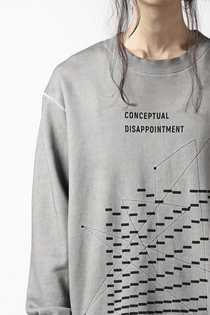 """A.F ARTEFACT """"GEOMETRY"""" DYEING SWEATER TOPS"""