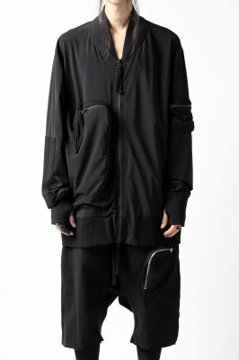 thomkrom RADICAL ZIP-POC TECH BOMBER JACKET