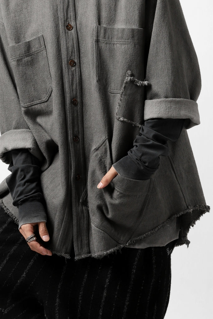 A.F ARTEFACT exclusive COVER-ALL JACKET / LOW COUNT DENIM