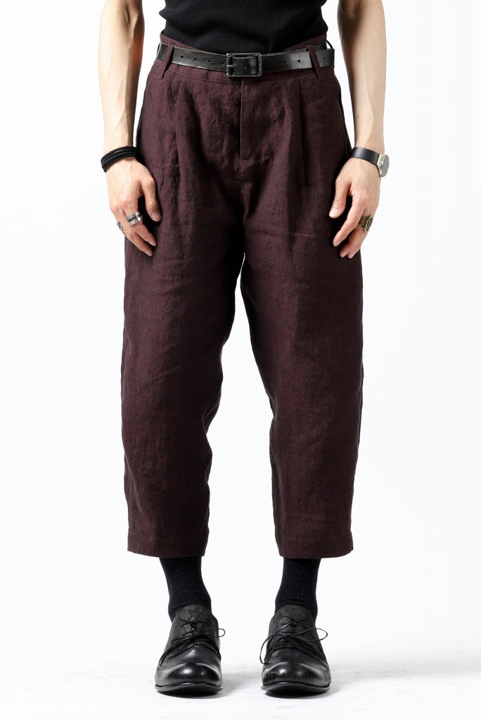 Hannibal. Cropped Trousers Natural Fit / harriet 194.