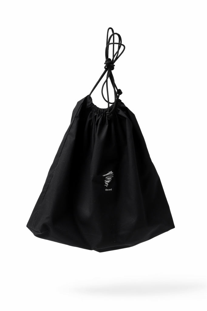 discord Yohji Yamamoto TACK ONE SHOULDER BAG / NATURAL SHRINK CALF LEATHER