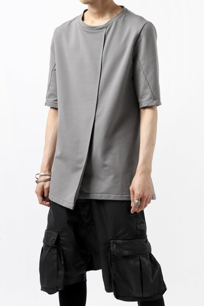 incarnation TUCK FRONT SHORT SLEEVE TOPS / ELASTIC F.TERRY