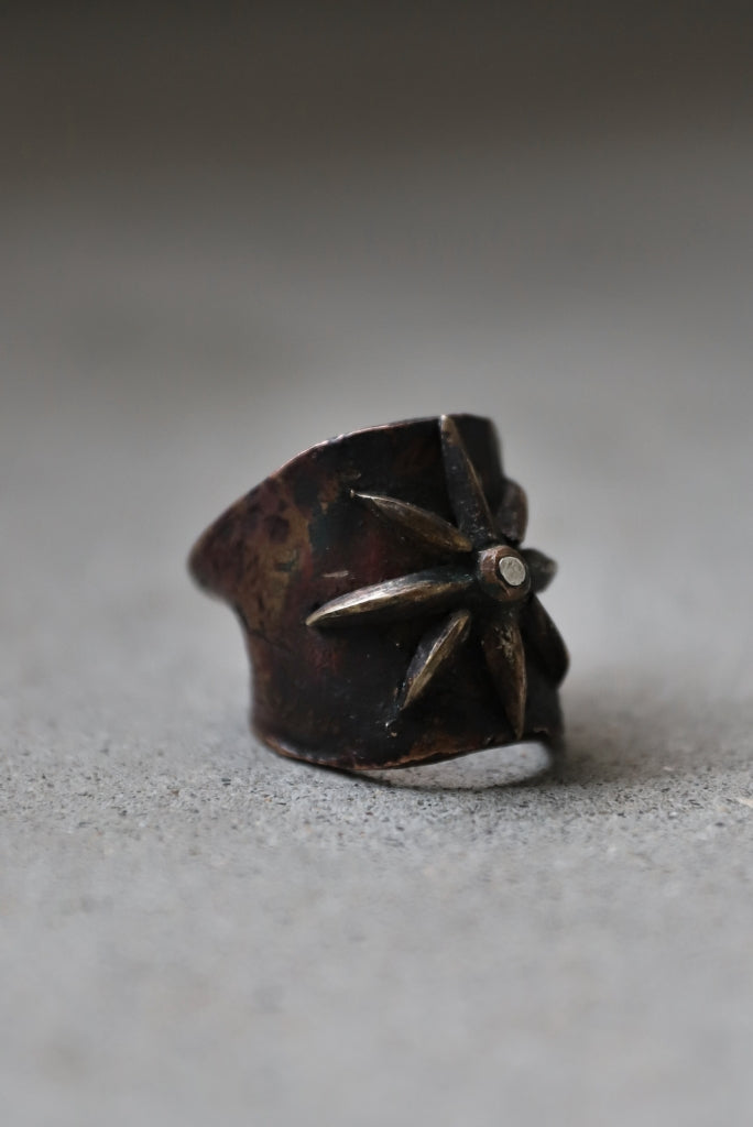 """BLOW THE WILD BRASSES HANDFORGED by JUN UEZONO """"GLORY RING"""""""