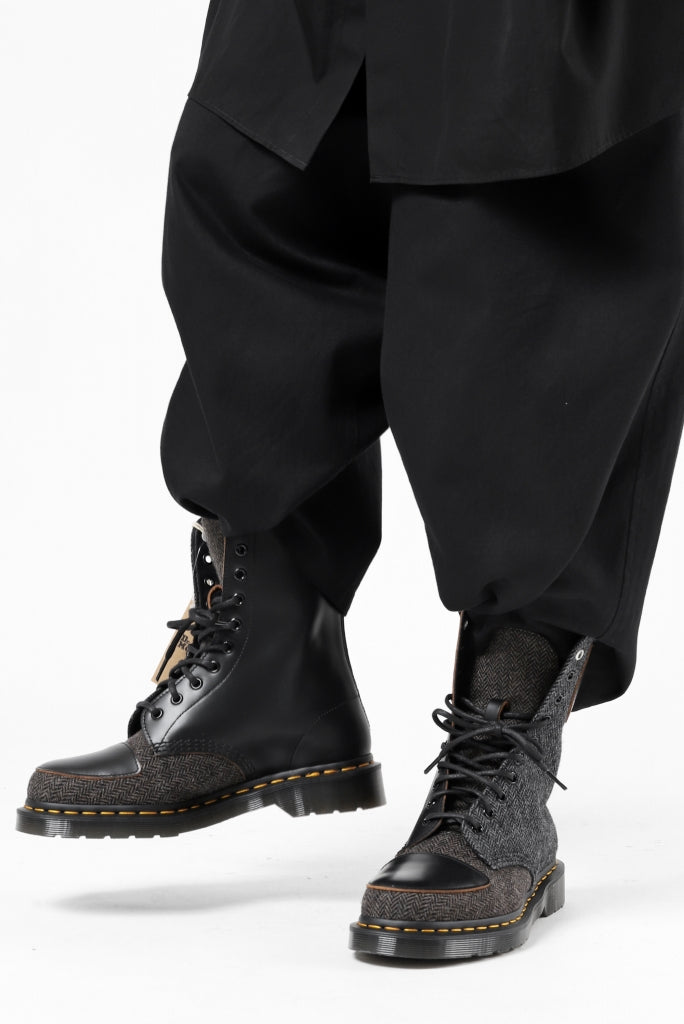 Y's x Dr. Martens 10-EYES BACK ZIP BOOTS / MOON FABRIC