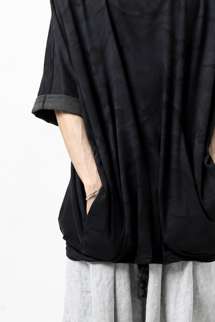 """A.F ARTEFACT x LOOM exclusive """"dolman"""" DYEING LOOSEY TOPS / CAMO-FLA JERSEY"""
