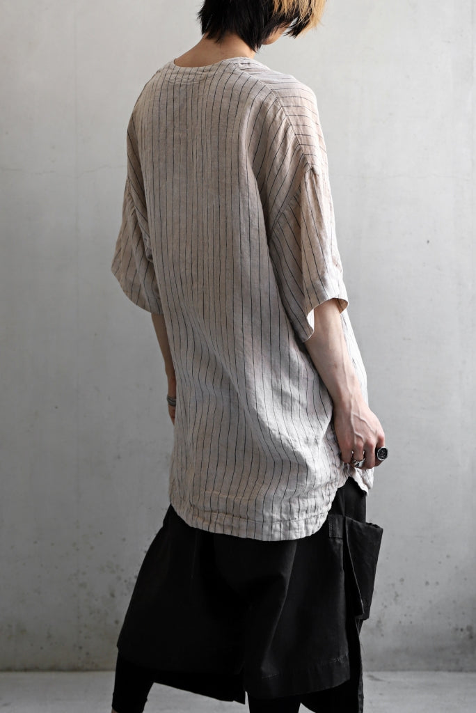 _vital exclusive minimal tunica tops / tea stain dyed linen