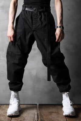 CHANGES VINTAGE REMAKE MILITARY CARGO TAPERED PANTS / WOODLAND CAMO_B