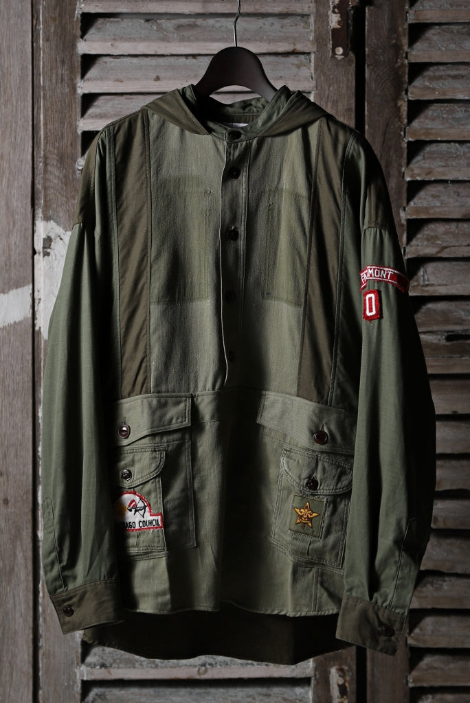 CHANGES VINTAGE REMAKE MILITARY HOODIE SHIRT-PARKA_A