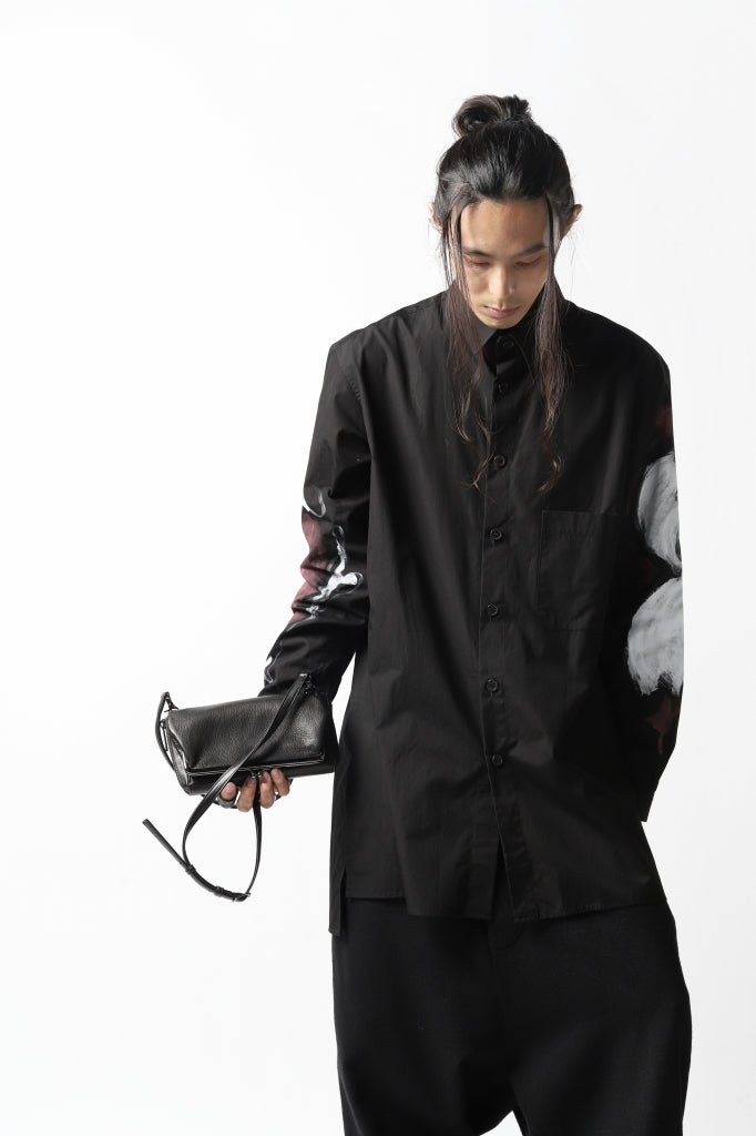 discord Yohji Yamamoto CLASP ZIP WALLET with SHOULDER STRAP