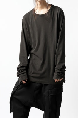 RUNDHOLZ DIP RAWCUT SWEAT SHIRT