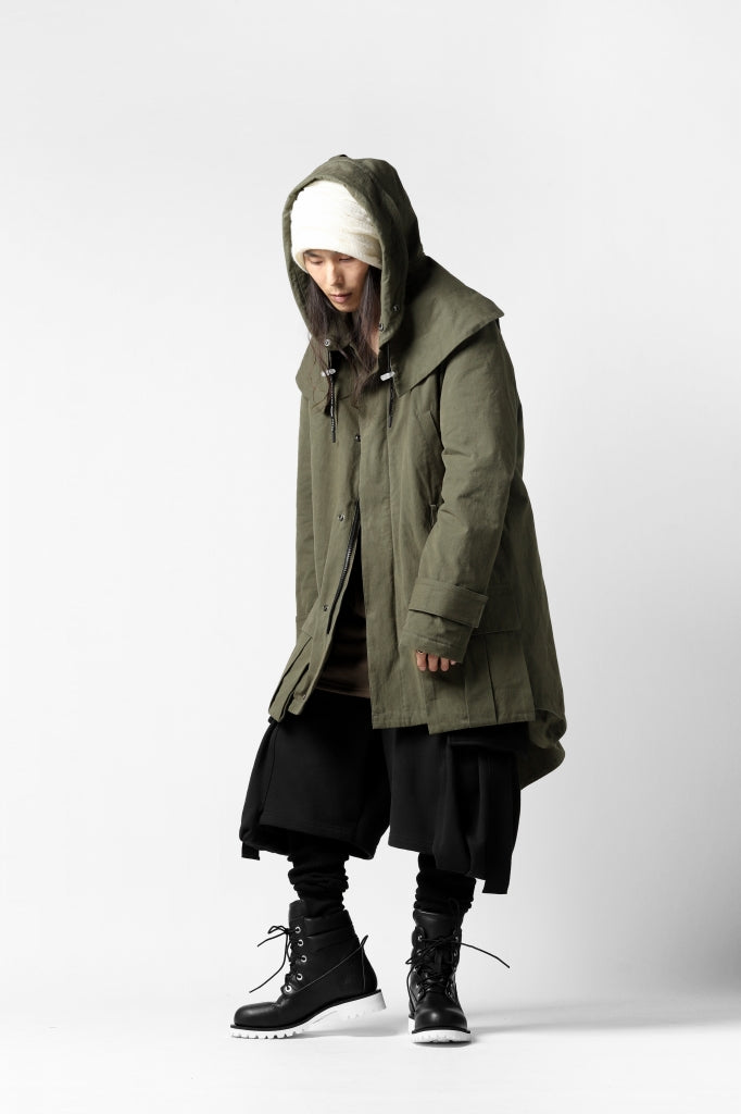 DEFORMATER.® FLAPPED MODS COAT / EXTRA WARM EDITION (KHAKI)