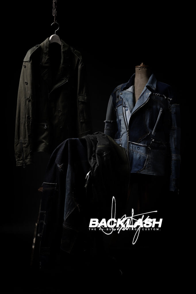 BACKLASH xx LOOM exclusive The Re-BUILD VINTAGE CUSTOM - (AW21).