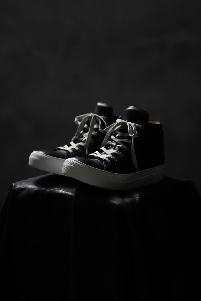 incarnation HIGHTOP SNEAKER / HORSE HAND-DYED