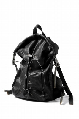 ierib roll top ruck sack / Oiled Horse Leather