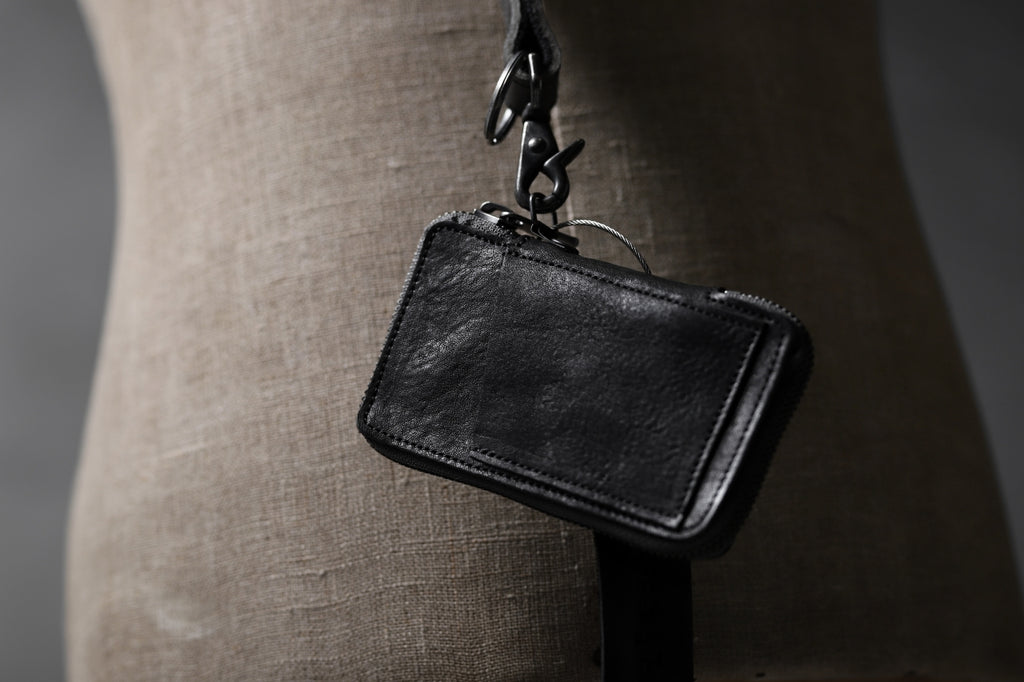 "Portaille ""Limited Made"" ZIP KEY CASE / Italy Vachetta"
