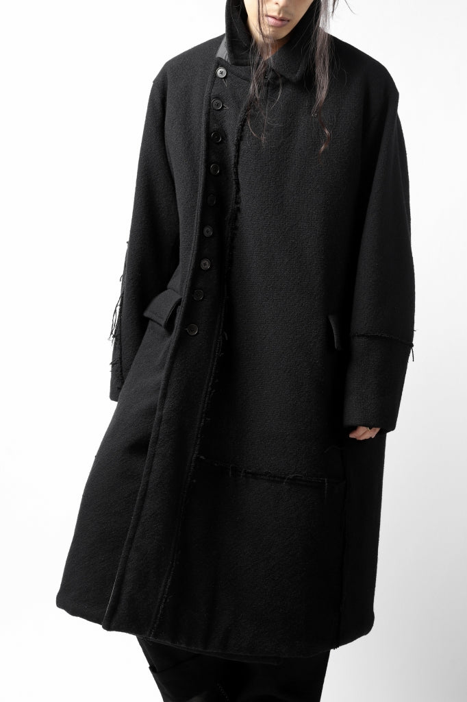 KLASICA HM-C DOUBLE BREASTED COAT with BONDED LINING