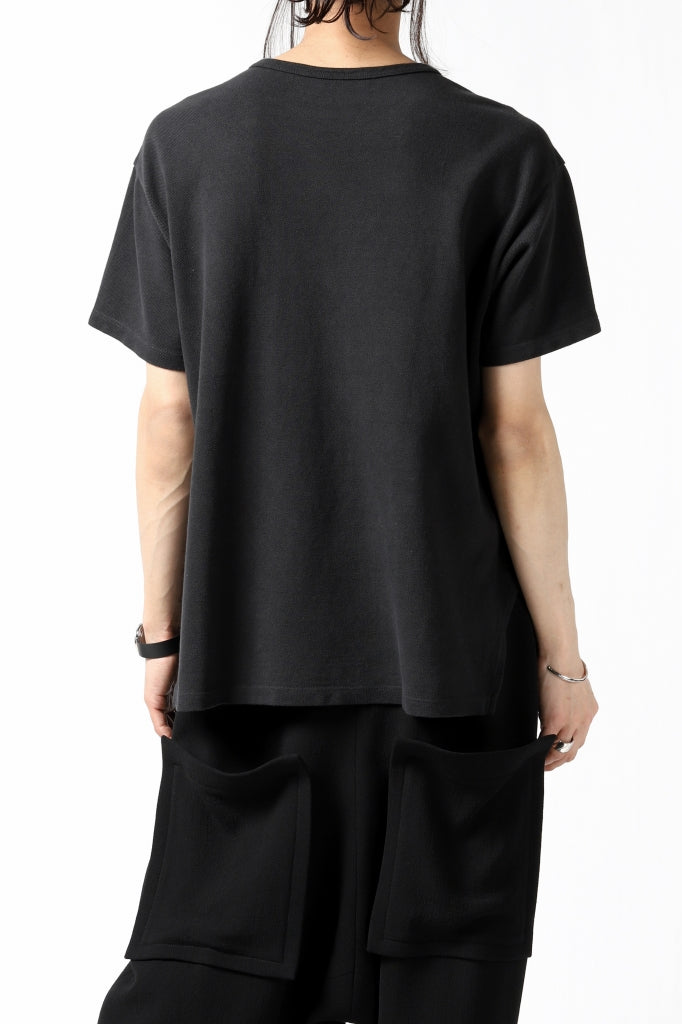 COLINA RELAX FIT T-SHIRT / PIQUE KNITTING JERSEY