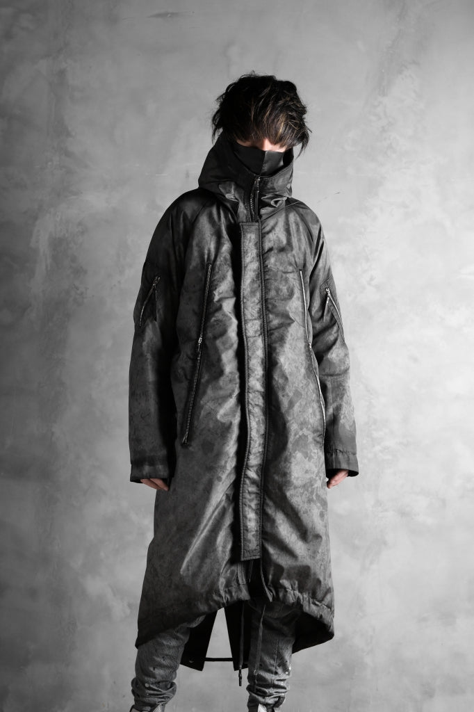 11 BY BORIS BIDJAN SABERI PADDED MODS COAT