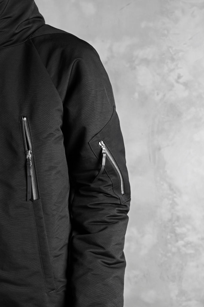 11 BY BORIS BIDJAN SABERI PADDED HOODIE JACKET
