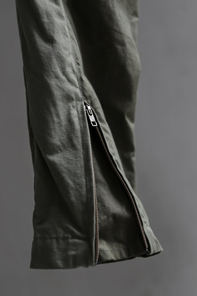 CHANGES VINTAGE REMAKE EASY JOCKEY PANTS / US ARMY SCHLAFCOVER (KHAKI #A)