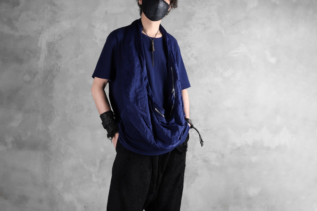 RUNDHOLZ DIP SHORT SLEEVE CUT SEWN / DYED JERSEY