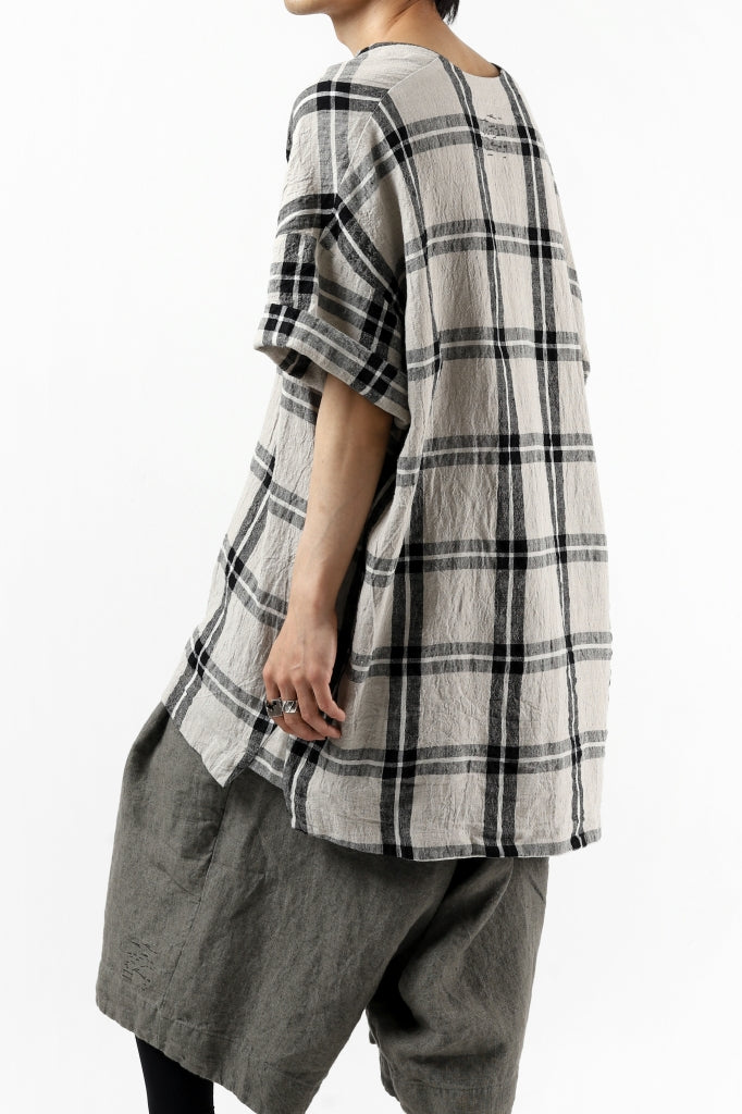 _vital exclusive collarless pullover shirt