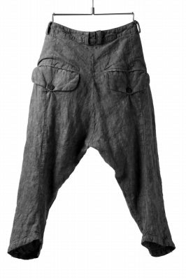 _vital exclusive curved narrow pants / washed denim