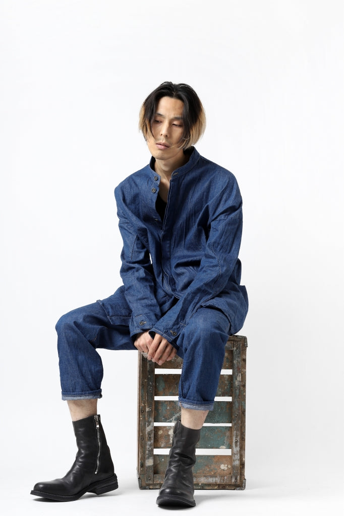 incarnation exclusive ARCH SHIRT JACKET / 6.5oz CHAMBRAY