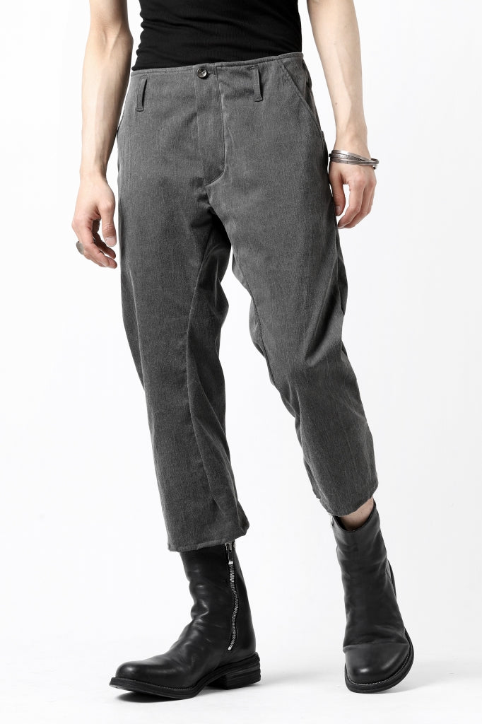 incarnation exclusive LONG DARTS CROPPED PANTS / EXPANDED WOVEN