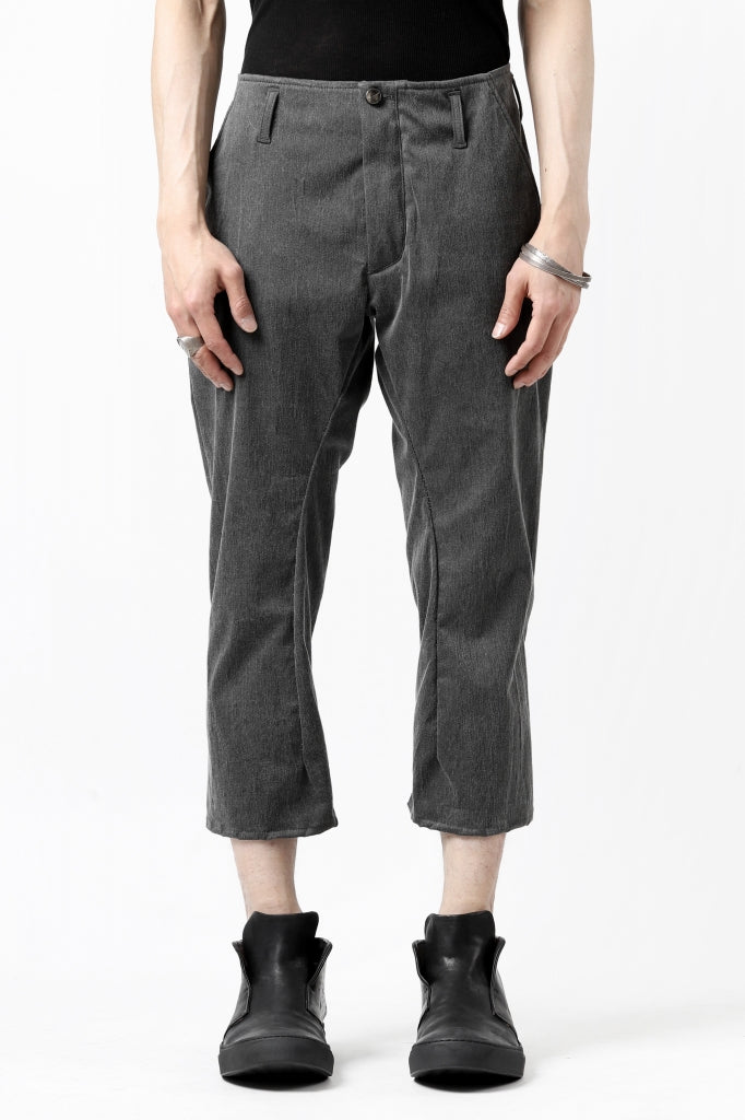 """incarnation narrow fit pants """"chambray or extra stretch"""" - (SS21)."""