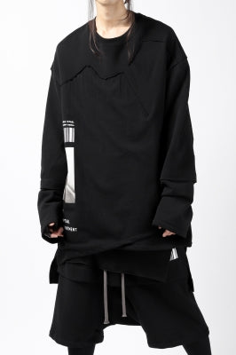 "A.F ARTEFACT ""ANSWERS"" DOCKING SWEATER TOPS"