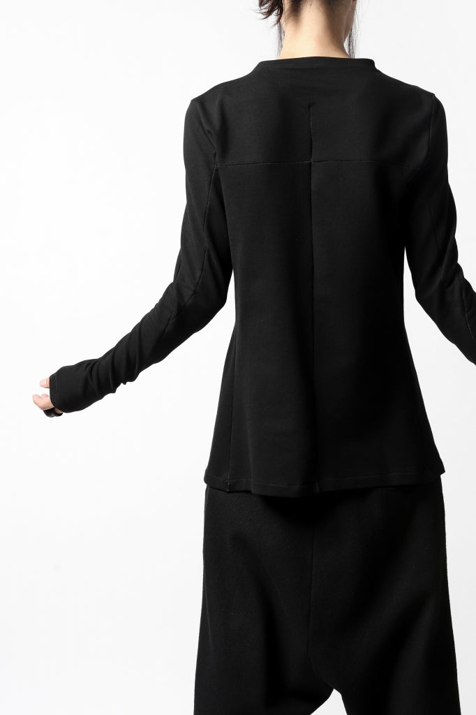 incarnation TUCK FRONT LONG SLEEVE JERSEY TOPS