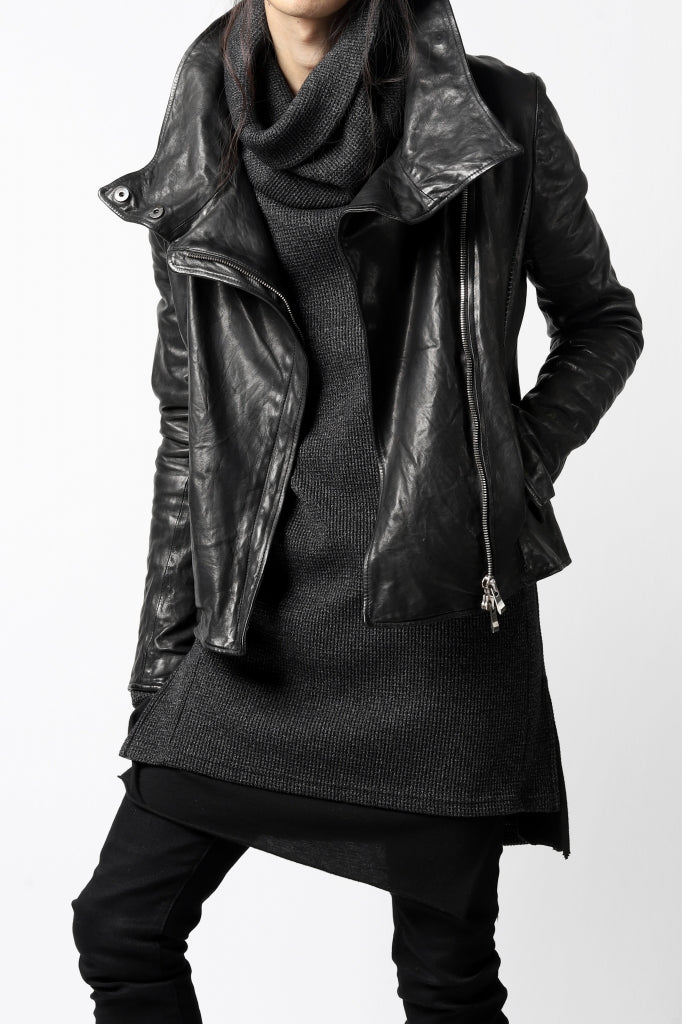 UNISEX STYLE(AW20) - incarnation Soft Leather Jacket.
