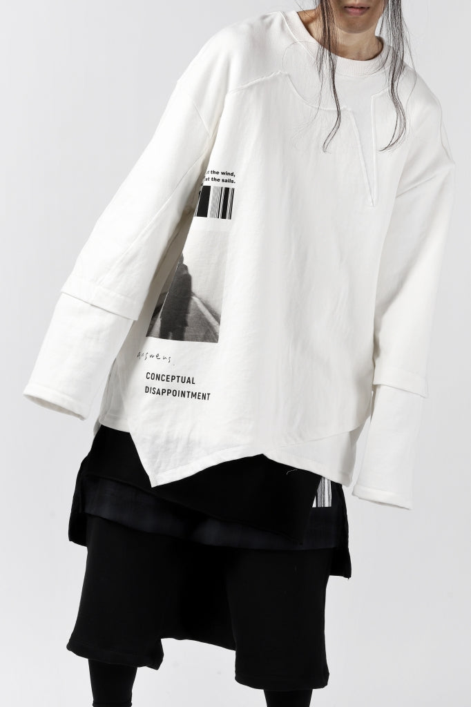 """A.F ARTEFACT """"ANSWERS"""" DOCKING SWEATER TOPS"""