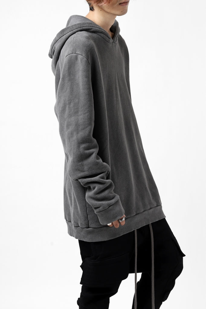 daub exclusive DYEING HOODIE PULLOVER / COTTON FLEECY
