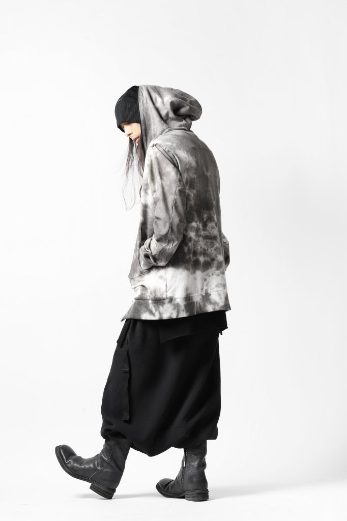 thomkrom DYEING SWITCH ZIPPER HOODIE