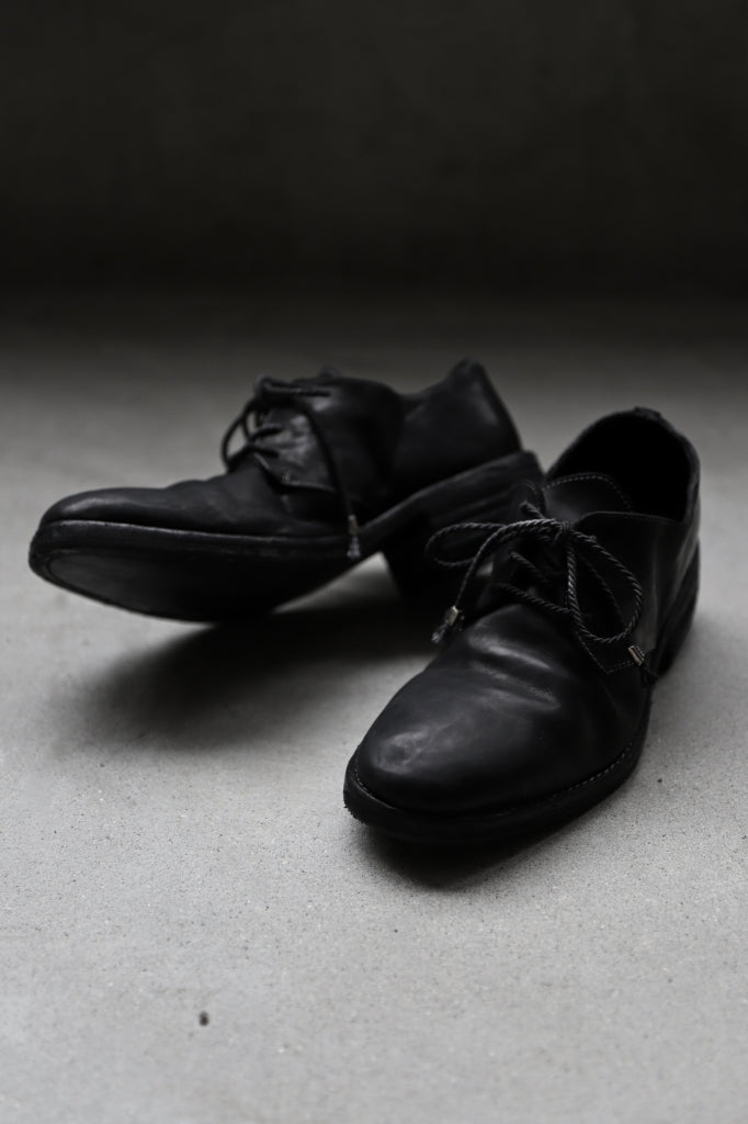 incarnation HORSE LEATHER DERBY SHOES / PIECE DYED