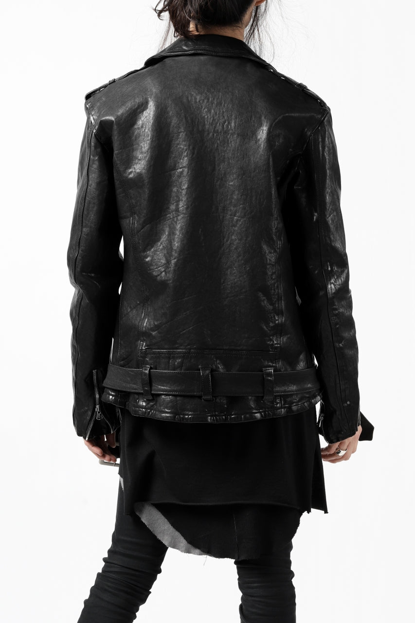 ISAMU KATAYAMA BACKLASH DOUBLE BREASTED JACKET/DOUBLE-SHOULDER OBJECT DYED