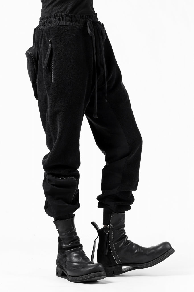 thomkrom RADICAL POCKETS EASY TROUSERS / SOFT FROTTEE