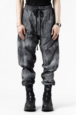 thomkrom LOW CROTCH JOGGER PANTS /DYEING WOVEN ELASTIC