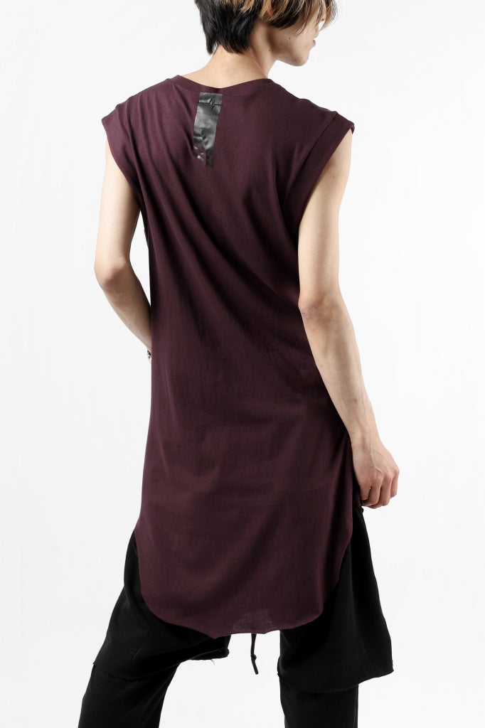 FIRST AID TO THE INJURED NOHR TANK TOP / SINGLE JERSEY TO THE INJURED NOHR TANK TOP / SINGLE JERSEY