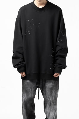 thomkrom PULLOVER TOPS SCATTER PAINT / FRENCH TERRY ORGANIC