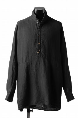 _vital half button-fly shirt