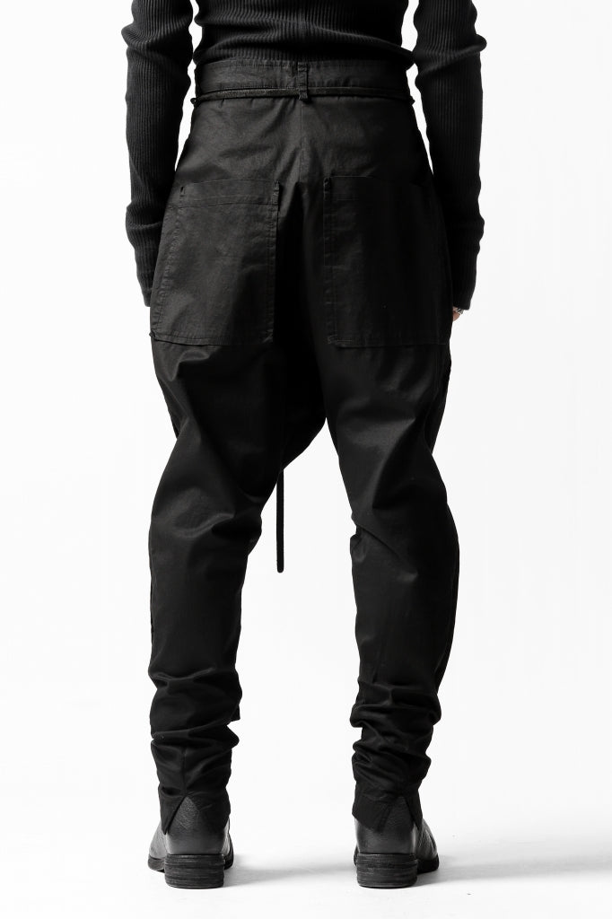 RUNDHOLZ DIP LOWCROTCH SLIM TROUSERS